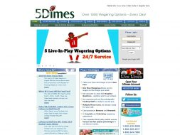 5Dimes: us ca do