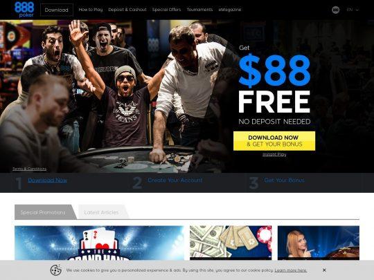 Poker Websites With Free Bonus