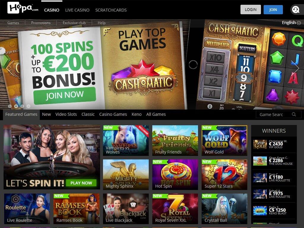 Hopa.Com Casino